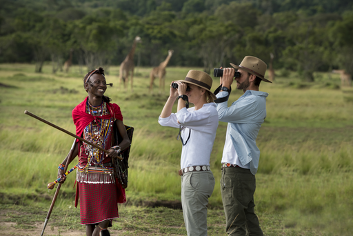 kenia safariliefhebbers