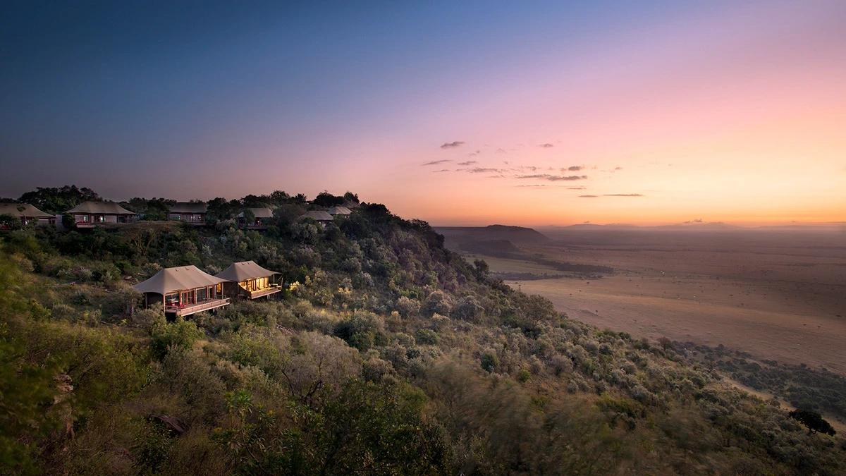 uitzicht kenia