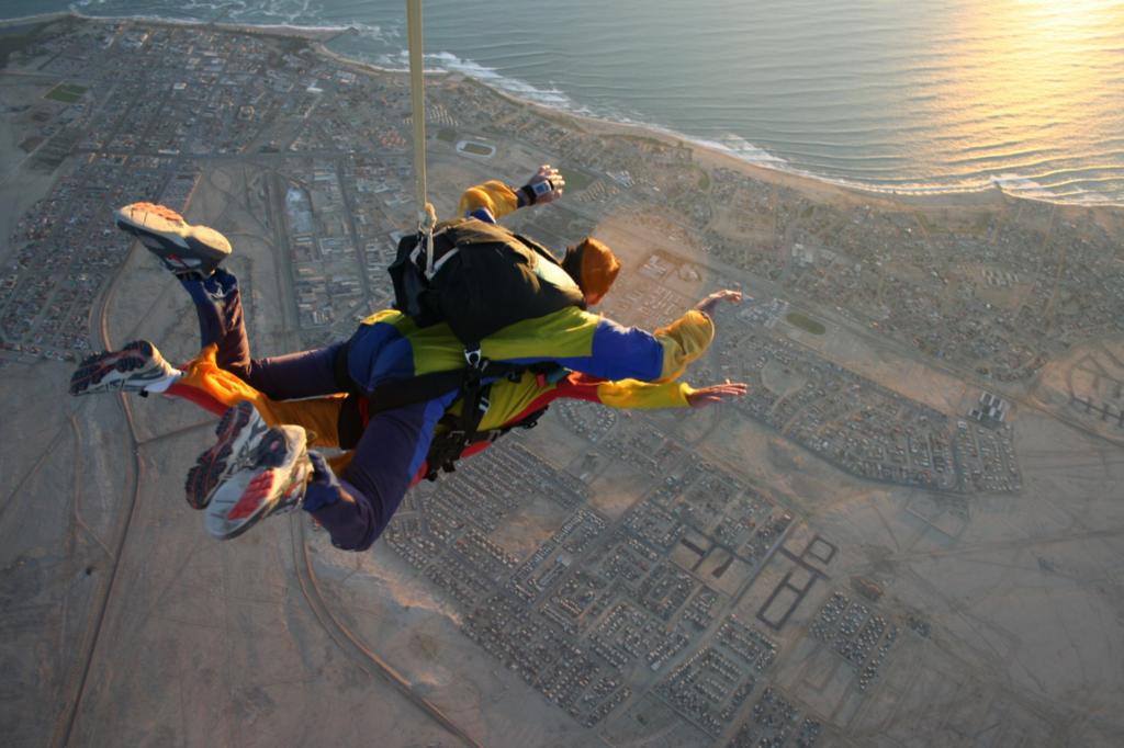 Swakopmund-skydiven
