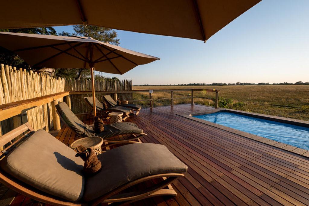Zwembad, Okavango Delta