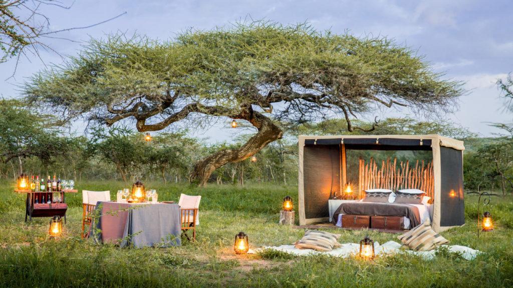 Mwiba Romantisch Diner