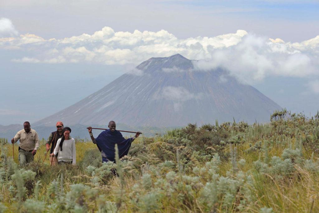 Ngorongoro Hike Masai