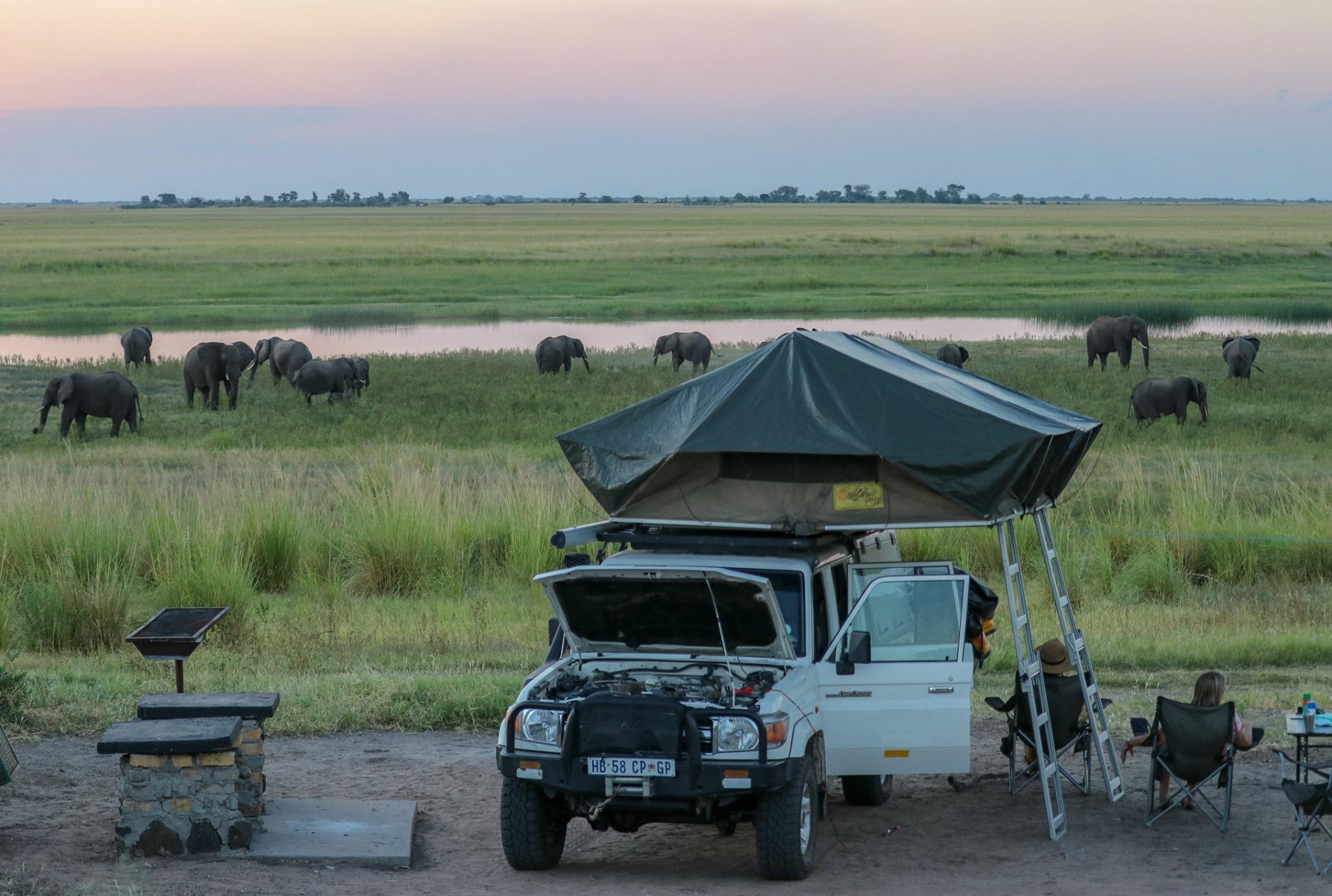 kampeersafari botswana